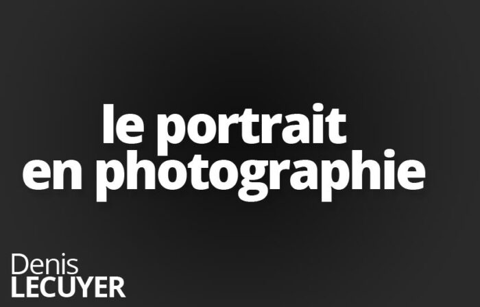 Le portrait en photographie